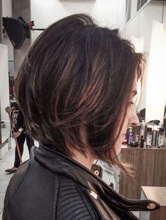 Chic-Long-Bob-Cut Most Beloved Bob Hairstyles for Women Inverted Bob Hairstyles, Hairstyles Haircuts, Medium Hair Styles, Short Hair Styles, Hair Dos, Short Hair Cuts, Hair Trends, New Hair, Hair Beauty