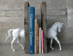 Sculpture Horse Bookend