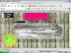 Tutorial sobre cómo usar glogster, una excelente herramienta de la WEB 2.0 para crear posters digitales insertando texto, audio, video...