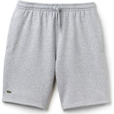 Lightweight and breathable, the Gray Fleece Tennis Shorts from Lacoste Sport boast ideal performance during a variety of athletic activity. Nike Outfits, Swag Outfits, Short Outfits, Tennis Shorts Men, Sport Tennis, Cotton Shorts Women, Streetwear Shorts, Lacoste Sport, Guy