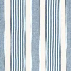 Schumacher - Summerville Linen Stripe