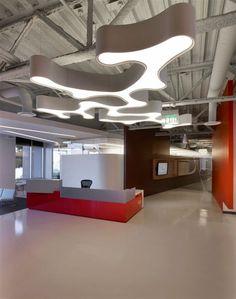 Actelion Pharmaceuticals - reception desk