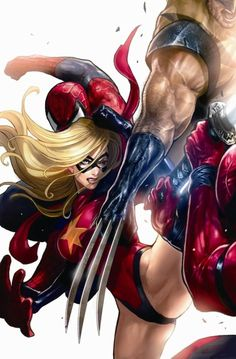 Ms. Marvel vs Spider-Man, Wolverine & Deadpool