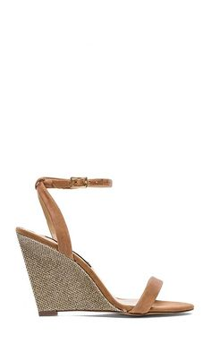 Gold/tan wedges $89