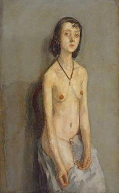 Gwen John (British painter, A Seated Girl Gwendolen Mary John – was a Welsh artist who worked in France for mo. Gwen John, Mary John, Matisse, Figure Painting, Figure Drawing, Vincent Van Gogh, Rainer Maria Rilke, Artists And Models, Social Art