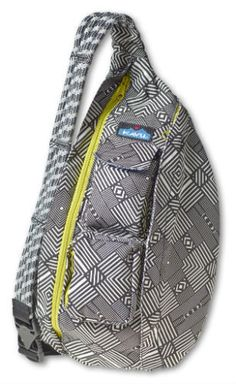 """KAVU has the latest in styles that is grabbing the attention of the fashion conscious. With its hands free adjustable shoulder strap you will never have that """"bag sway"""" problem as you go about your bu"""