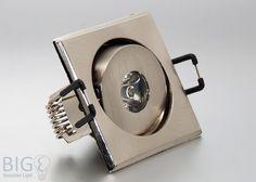 Horoz Power #LED #Einbauleuchte 1 Watt eckig schwenkbar
