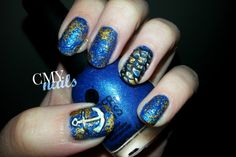 31DC2014 Inspired by a Color: Finger Paints – Sailor's Lure