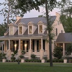 This beautiful southern home would be perfect on some acres.
