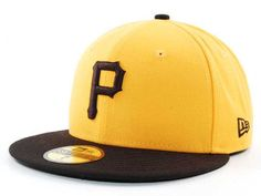 Pittsburgh Pirates New Era 59Fifty MLB Cooperstown Hats.