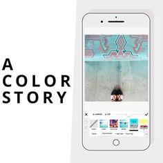 app fotos celular a color story