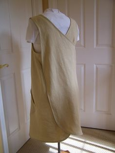 Womens and Plus Sized Linen Cross Back Full Coverage by AptosBeach