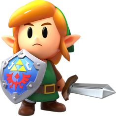 The Legend of Zelda ™: Link's Awakening game for the Nintendo Switch™ system – Official Site The Legend Of Zelda, Legend Of Zelda Characters, Legend Of Zelda Breath, Video Game Characters, Game Character Design, Character Art, Arte Nerd, Nerd Art, Game Art