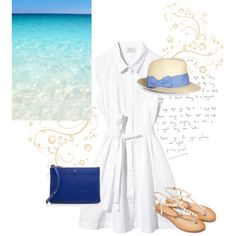 summer by berybery on Polyvore featuring ファッション, CÉLINE and Monsoon