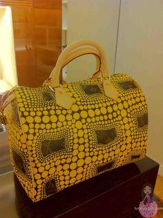 Louis Vuitton Yellow Kusama Speedy