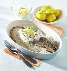 Ryba pečená v soli