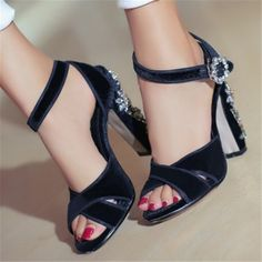 70.00$  Buy here - http://aiuv6.worlditems.win/all/product.php?id=32778311273 - Handmade Rhinestone Fashion High Heels Pleuch Gladiator Sandals Women Pumps Wedding Dress Shoes Woman Sandalias Mujer