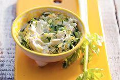 Komkommerdip met mascarpone