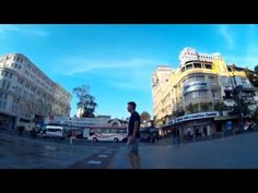 Street photography with Fujifilm X-pro 2 and a mounted action cam. - YouTube