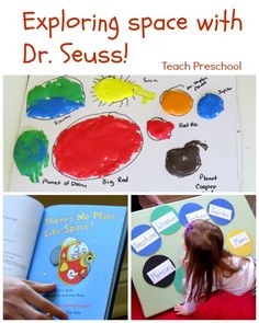 Exploring Space with Dr. Seuss from Teach Preschool