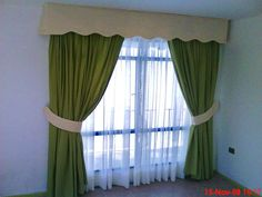 Cotinas, curtains