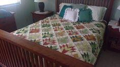 King Quilt//Queen Quilt//Traditional Quilt//Homemade//Handmade//Custom Quilt//Cleopatra's Fan//Christmas Quilt