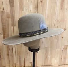 2349671f6415a hand-dyed beaver blend western open crown mens hat with by hatWRKS Fedora  Outfit