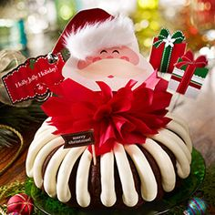This holiday season, Santa's delivering more than presents. He's delivering delicious, hand-crafted Nothing Bundt Cakes. You're sure to have visions of cream cheese frosting dancing in your head.