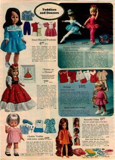 1969-ADVERTISEMENT-Doll-Baby-Precious-Thumbelina-Crissy-Swingy-Mommys-Darling