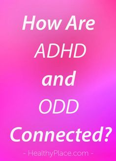 Oppositional defiant disorder (ODD) and ADHD frequently overlap. What is ODD and its connection to ADHD, and how can it be treated? Find out more about ODD and ADHD at HealthyPlace. Odd Disorder, Anxiety Disorder, Autism Facts, Defiance Disorder, Causes Of Adhd, What Is Odd, Adhd Odd