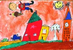 I love these Chagall inspired paintings!