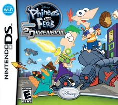 Phineas and Ferb: Across the 2nd Dimension Your #1 Source for Video Games, Consoles & Accessories! Multicitygames.com