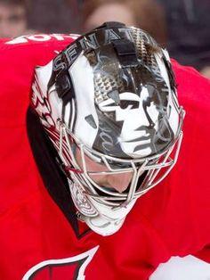 Best goalie masks of 2013 NHL season Hockey Helmet, Ice Hockey Teams, Hockey Goalie, Hockey Stuff, Soccer, Hockey Pictures, Nhl Season, Goalie Mask, Nhl News