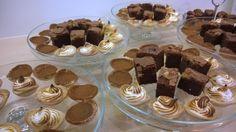 High Tea uit Wouters Keuken: tasty cups met lemoncurd- meringue en pure chocolade en brownies met walnoten