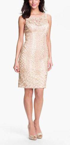 Embellished Lace Tulle Dress
