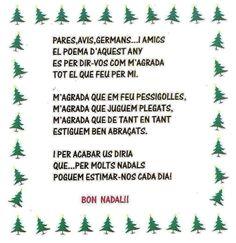 Poema DE NADAL Christmas Arts And Crafts, Christmas Tree Ornaments, Christmas Cards, Christmas Decorations, Tapas, Conte, Winter Christmas, Board, School
