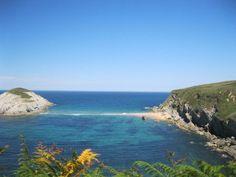 @hw_1221 - #ForAnyone #BrittanyFerries Walking along the coast near Playa de Arnia Cantabria