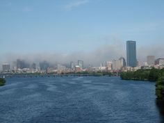 Fog over Boston; Looking forward to PCA April 2012!