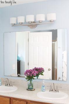 Allen Roth Bathroom Lighting by twotwentyone Outdoor Light Fixtures, Bathroom Light Fixtures, Bathroom Vanity Lighting, Types Of Furniture, Furniture Making, Allen Roth Lighting, Rustic Outdoor Decor, Outdoor Ideas, Italian Home Decor