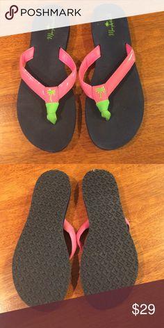 New margaritaville flip flops pink and navy New margaritaville flip flops pink and navy Margaritaville Shoes Sandals