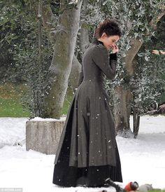 Eva Green films dramatic scenes for drama Penny Dreadful   Daily ...
