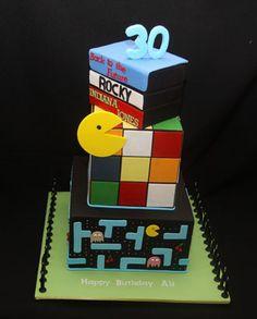 Pacman/Rubics Cube