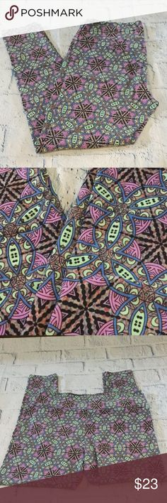 💥FLASH SALE💥TC-BUY THE OUTIFT GET 10% MORE Tall and curvy BNWOT leggings. Gorgeous and bright design LuLaRoe Pants Leggings