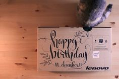 Happy birthday. #digitalart #typo #doodleart #posterart #typography #calligraphy #typeoftheday #ligaturecollective #thedailytype #typotopia