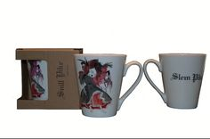 ,, Snill pike,, collection by Anna Strøm mugs ,, Slem pike,,- bad girl http://www.design-of-norway.no/ www.snillpike.no