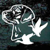 Labrador retriever decals stickers