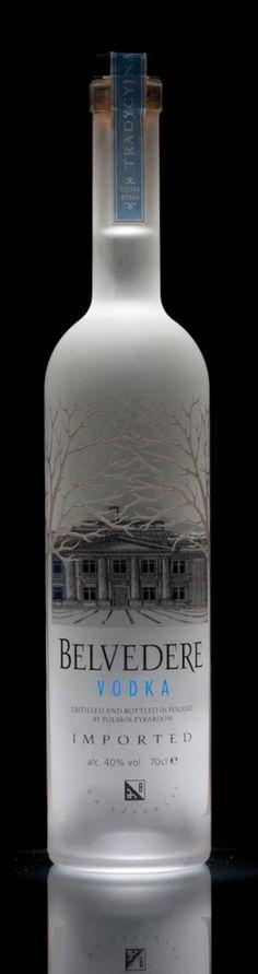 Belvedere Vodka Bottle