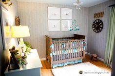 #boy #nursery abodelove.com