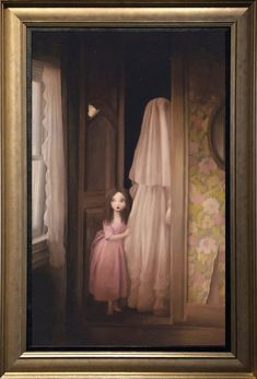 Stephen Mackey oil painting Feel the atmosphere Dark Art Illustrations, Illustration Art, Fashion Illustrations, Creepy Art, Weird Art, Arte Horror, Lowbrow Art, Arte Popular, Pop Surrealism