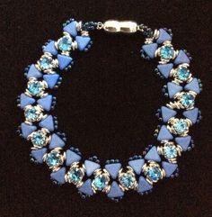Bracelet Kheops bleu